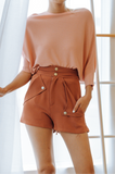 Reina High-waisted Shorts