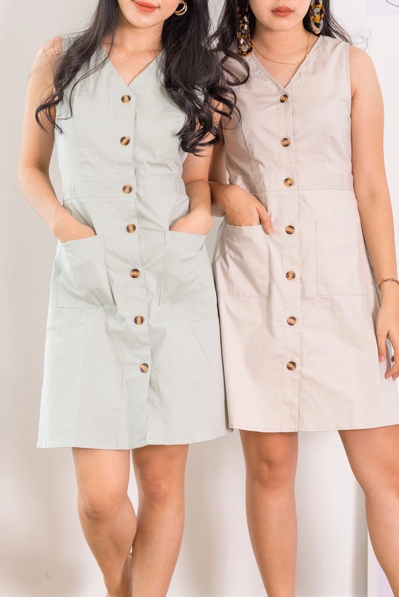 Babydoll Button Down Dress