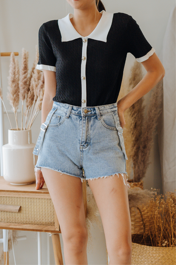 Marlowe Denim Shorts