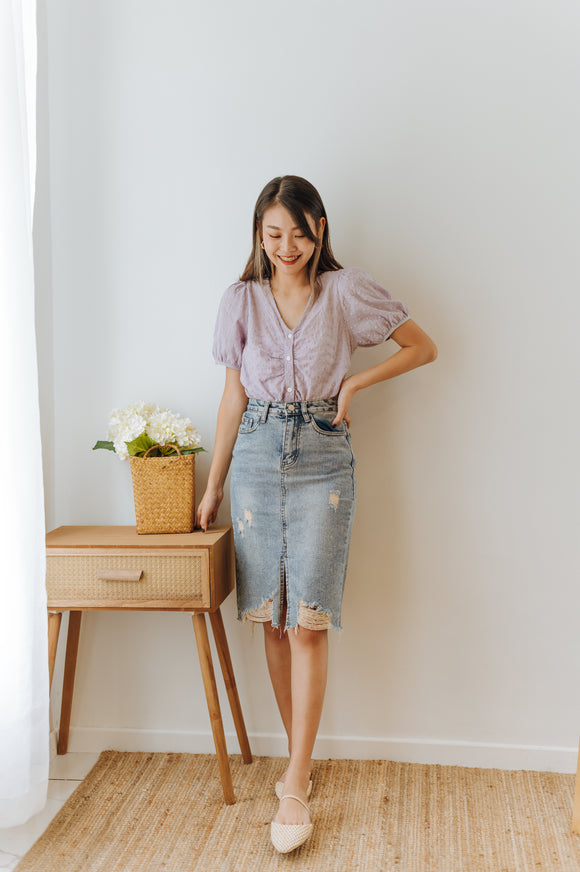 Verona Mini Denim Skirt