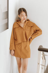 Mally Long Sleeve Two Piece Set