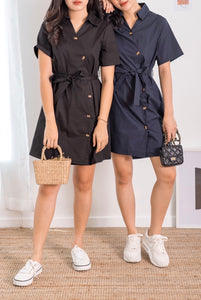 Off The Mark Shirt Dress