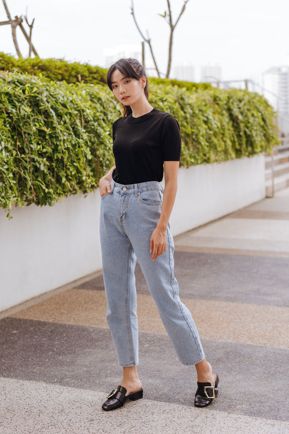 Kinra Knit Sleeve Top