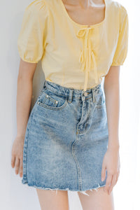 Jonga Short Denim Skirt