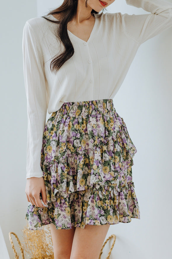 Calley Floral Skirt