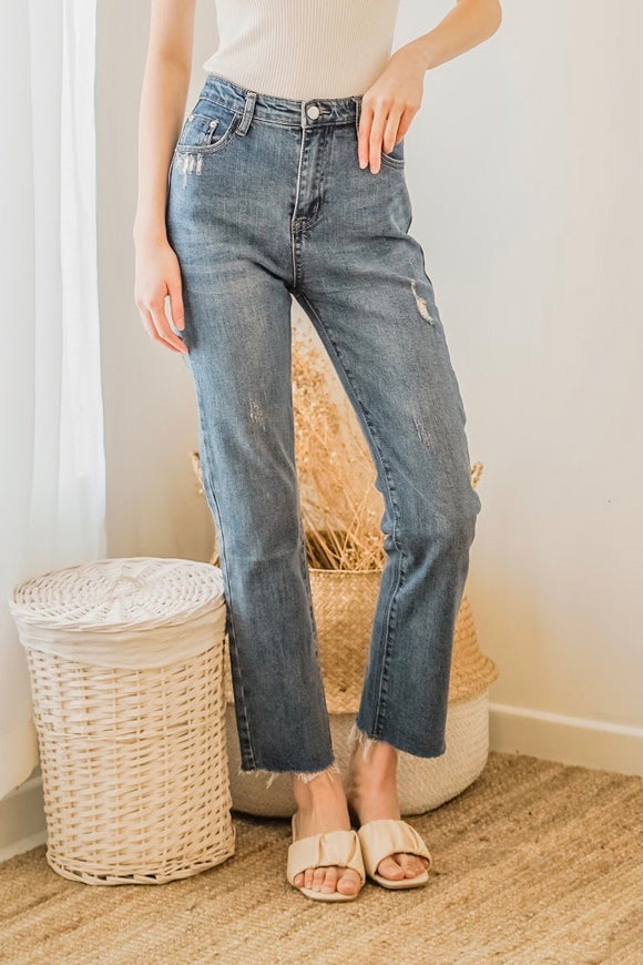 Fomme Straight Leg Jeans