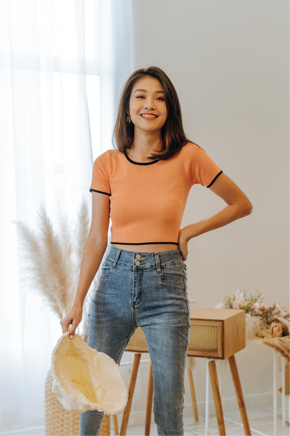 Teressa Knit Crop Top