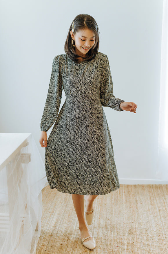 Monta Long Sleeve Dress