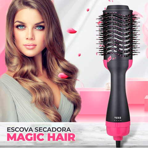Magic Hair® - Escova + Secador integrados!