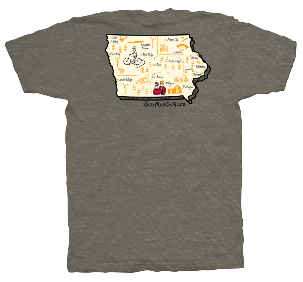Iowa Short Sleeve T-Shirt