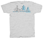 Ol' Gal On Bike Short Sleeve T-Shirt