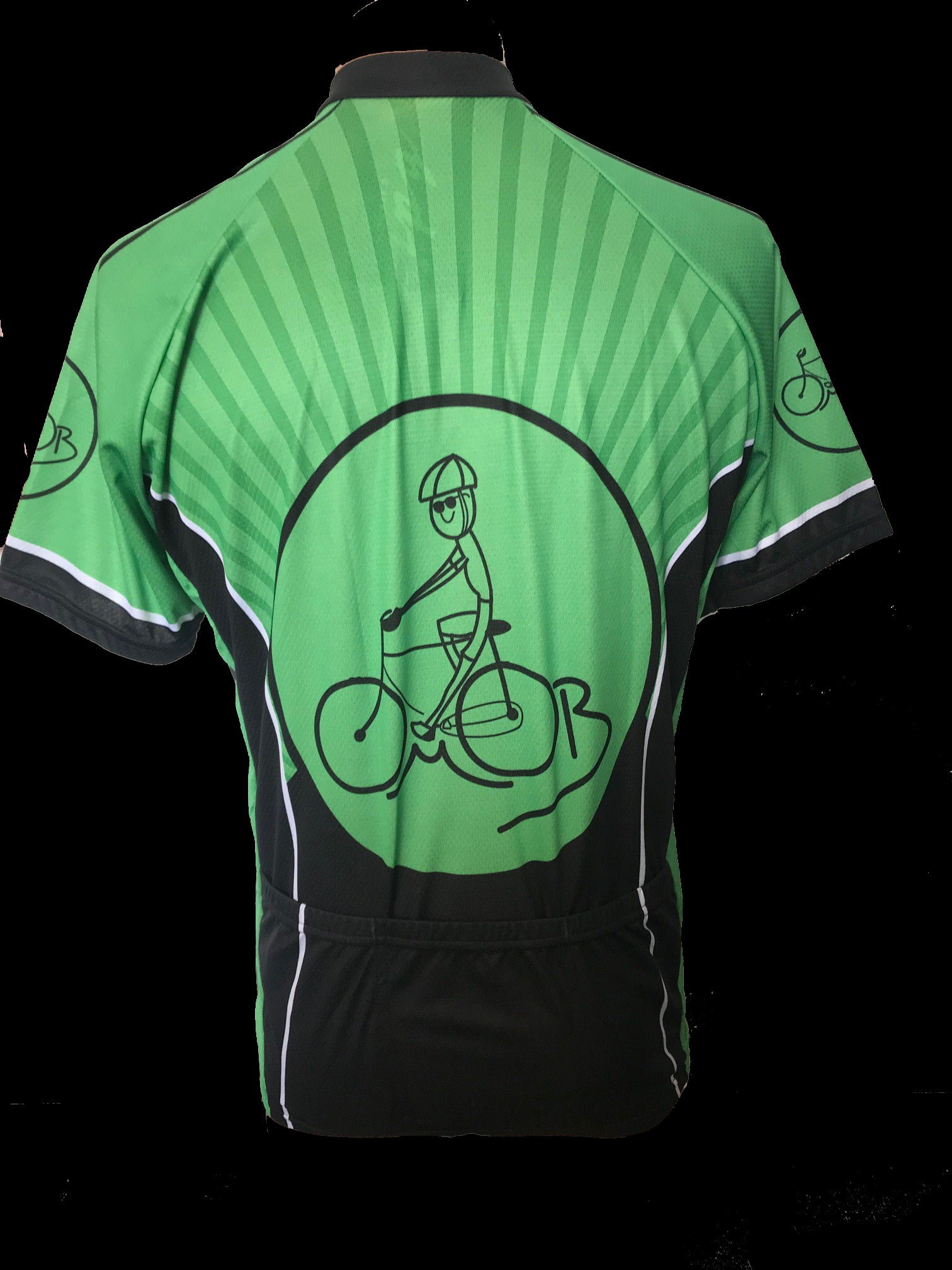 Old Man On Bike Jersey
