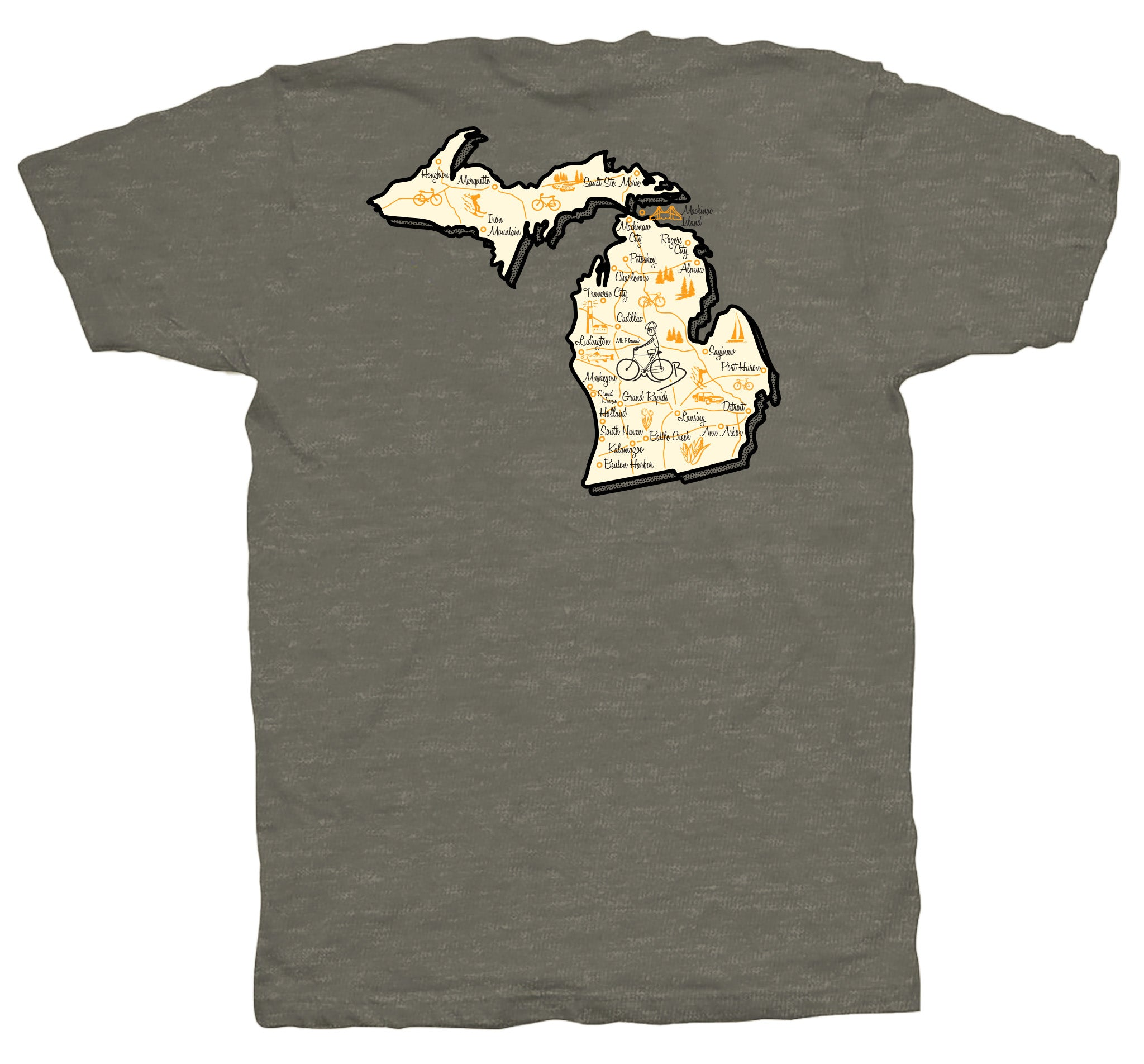 Michigan Short Sleeve T-Shirt