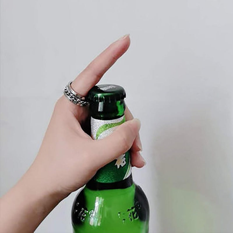 Rotating Ring&Bottle Opener(2pcs)