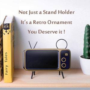 Retro TV Bluetooth  Phone Holder