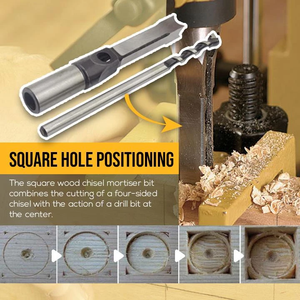 Square Hole Drill Bit Twist Drill - Buy 3 Free Shipping