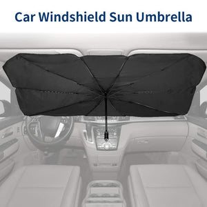 🔥Hot Sale--Foldable Car Sun Umbrella