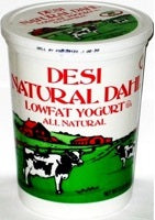 Desi Low Fat Yogurt