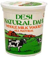 Desi Whole Milk Yogurt
