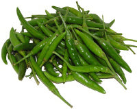 Green Small Chilies