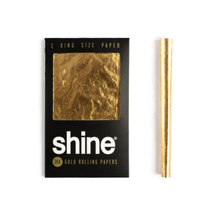 SHINE King 24K GOLD Rolling Paper - 1 Sheet Pack