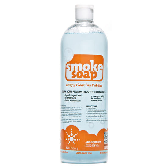 Smoke Soap Orange Scented Cleaning Solution