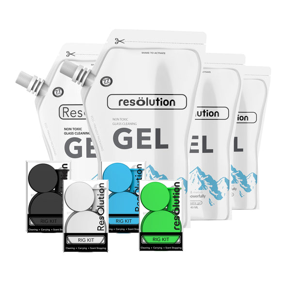 ResOlution Res Rig Kit + Res Gel - 240mL Bundle