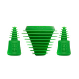 Hemper Silicone Plug and Caps - Green
