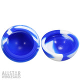 Honeycombz Silicone Ball - Blue/White