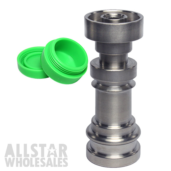 Infinity Domeless Titanium 4 in 1 - 14mm/18mm - Male/Female Free Silicone Jar