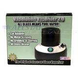 Vapolution 2.0 Vaporizer - Newest 2011 Version + FREE 3pc Steel Grinder & Colored Mouthpiece