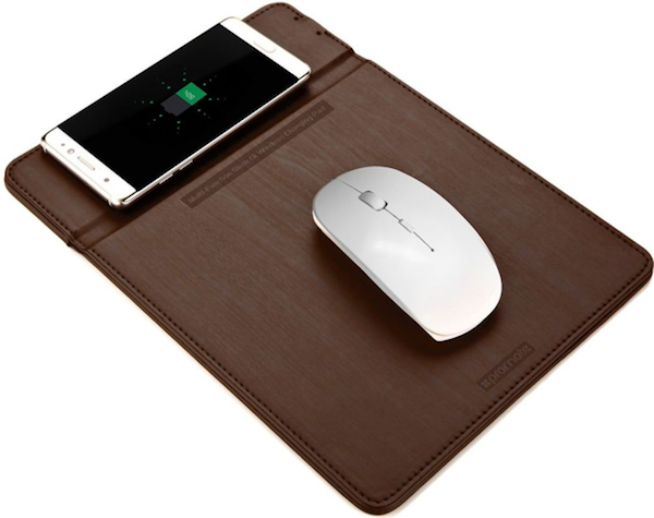 Elegant Wireless Charging Mouse Pad