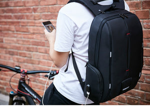 Fashion Waterproof Backpack with USB Charger for Laptop and MacBook