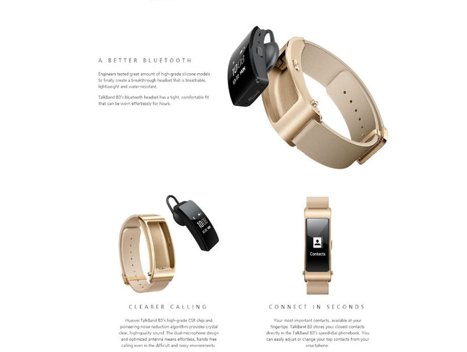 Huawei Fashion Smart TalkBand