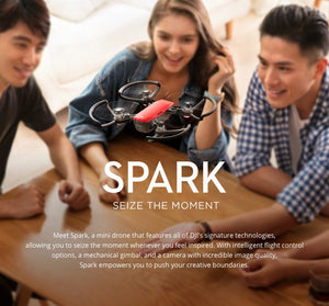 DJI Spark Drone with Remote Controller 1080P HD Camera