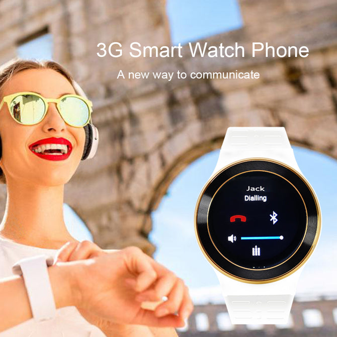 High Tech Quad Core Smart Watch with Heart Rate Monitor for iOS & Android
