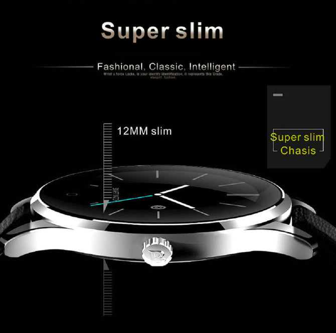 Trendy Round Screen Smart Watch For iOS & Android