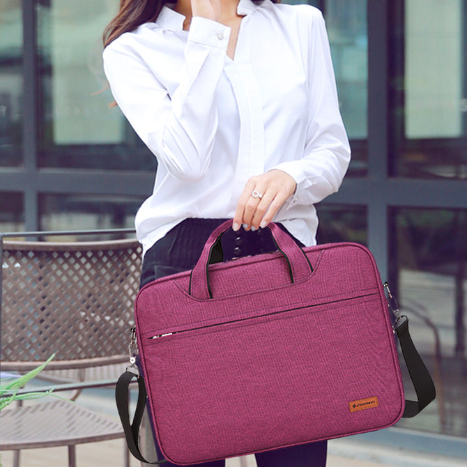 "Fashion Messenger Bag for Laptop and MacBook 13"" and 15"" - 4 colors"