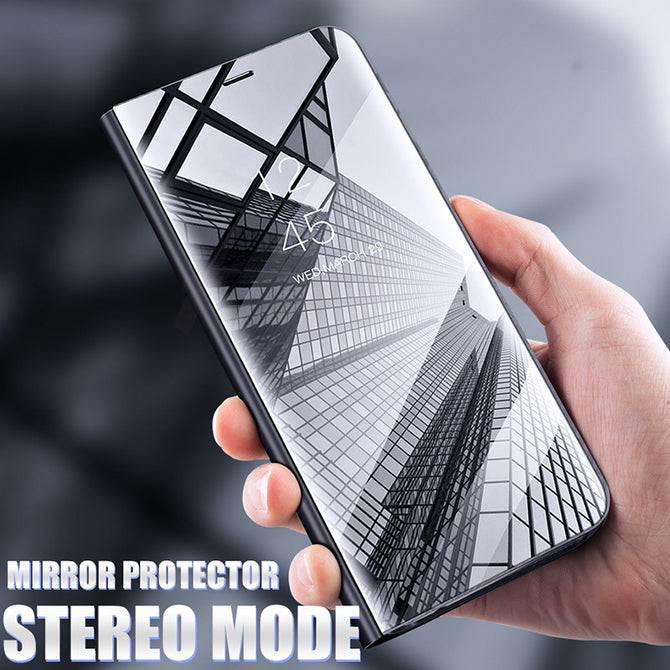Elegant Mirror Flip Case For Samsung