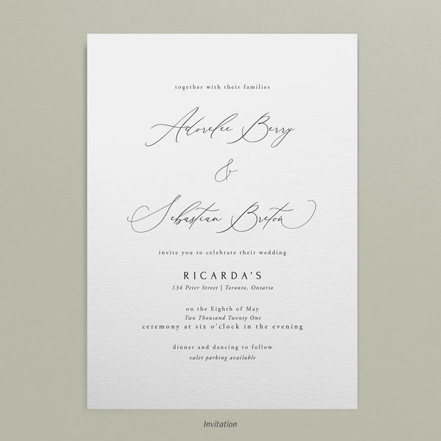 Adorlee Invitations