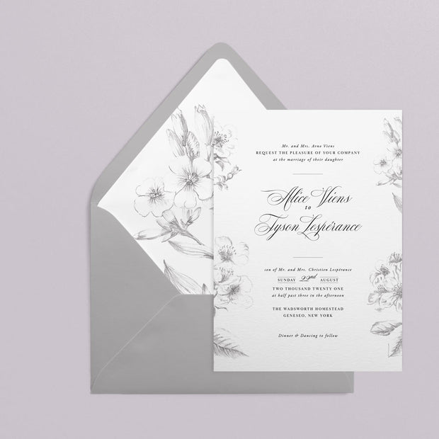 Alice Invitations