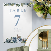 Elise Table Numbers