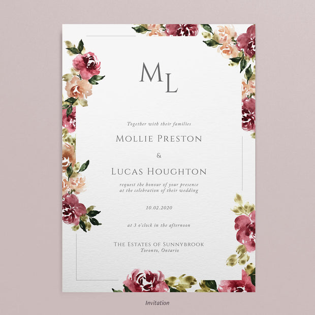 Mollie Invitations
