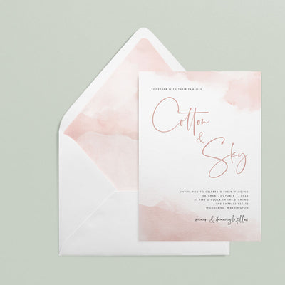 Cotton Invitations