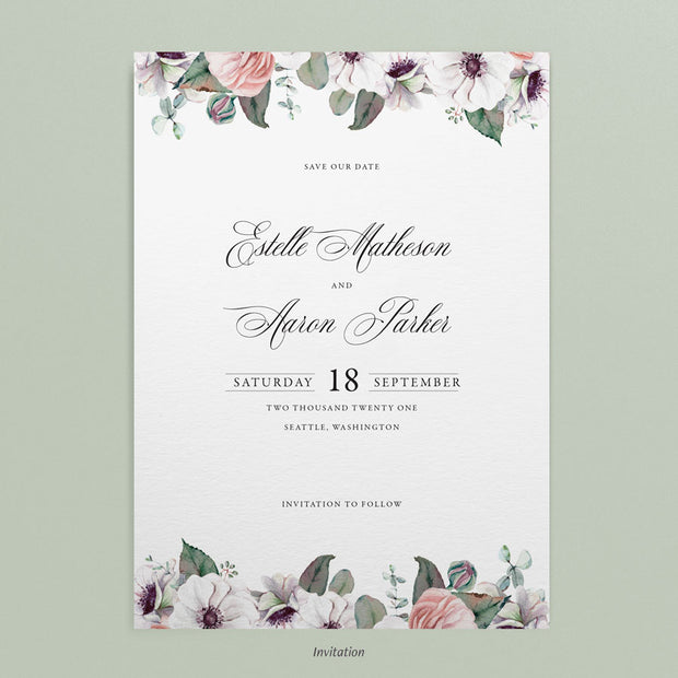 Estelle Save The Dates