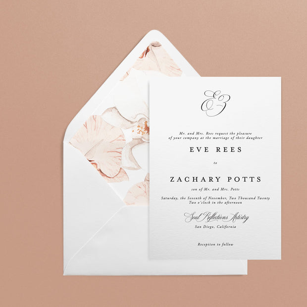 Eve Invitations