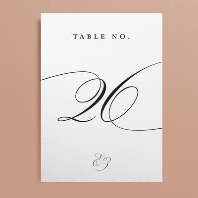 Eve Table Numbers