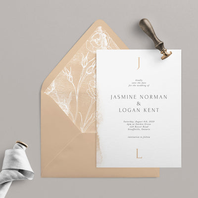 Jasmine Save The Dates