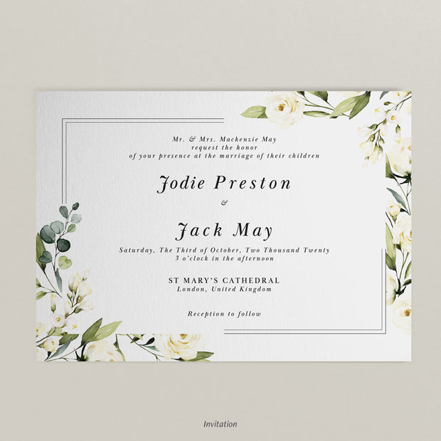 Jodie Invitations