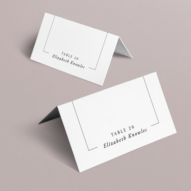 Maddison Place Cards